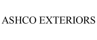 mark for ASHCO EXTERIORS, trademark #85758820