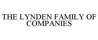 mark for THE LYNDEN FAMILY OF COMPANIES, trademark #85758889