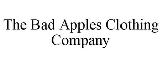 mark for THE BAD APPLES CLOTHING COMPANY, trademark #85759056