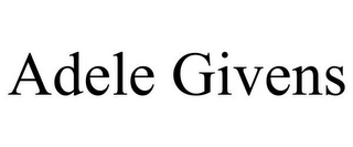 mark for ADELE GIVENS, trademark #85759117