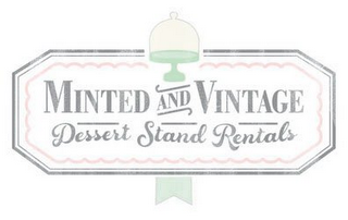 mark for MINTED AND VINTAGE DESSERT STAND RENTALS, trademark #85759125