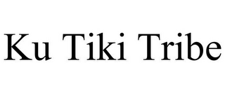 mark for KU TIKI TRIBE, trademark #85759277