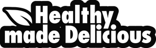 mark for HEALTHY MADE DELICIOUS, trademark #85759478