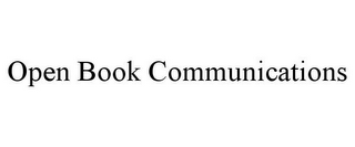 mark for OPEN BOOK COMMUNICATIONS, trademark #85759498