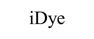 mark for IDYE, trademark #85759866