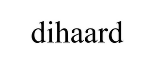 mark for DIHAARD, trademark #85759872