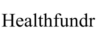 mark for HEALTHFUNDR, trademark #85759891