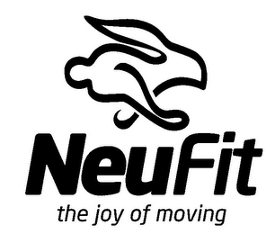 mark for NEUFIT THE JOY OF MOVING, trademark #85759897