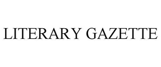 mark for LITERARY GAZETTE, trademark #85759946