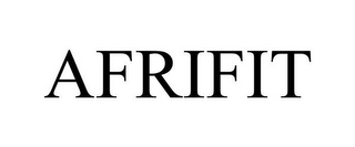 mark for AFRIFIT, trademark #85760086