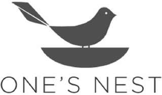 mark for ONE'S NEST, trademark #85760087