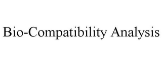 mark for BIO-COMPATIBILITY ANALYSIS, trademark #85760288