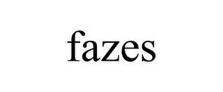 mark for FAZES, trademark #85760329