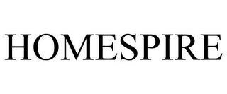 mark for HOMESPIRE, trademark #85760400