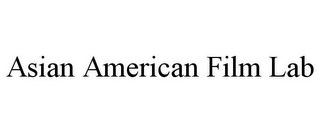 mark for ASIAN AMERICAN FILM LAB, trademark #85760542
