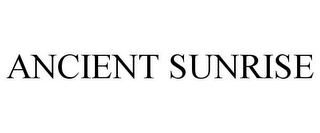 mark for ANCIENT SUNRISE, trademark #85760622
