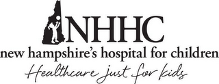 mark for NHHC NEW HAMPSHIRE'S HOSPITAL FOR CHILDREN HEALTHCARE JUST FOR KIDS, trademark #85760722