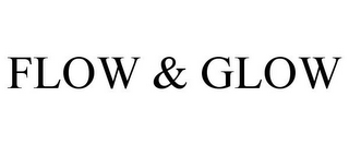 mark for FLOW & GLOW, trademark #85760860