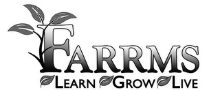 mark for FARRMS LEARN GROW LIVE, trademark #85760948