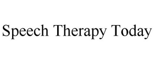 mark for SPEECH THERAPY TODAY, trademark #85761011