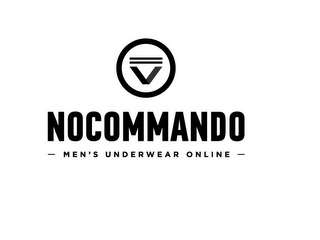 mark for V NOCOMMANDO MEN'S UNDERWEAR ONLINE, trademark #85761341