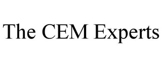 mark for THE CEM EXPERTS, trademark #85761494