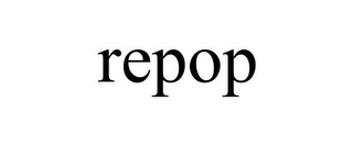mark for REPOP, trademark #85761564