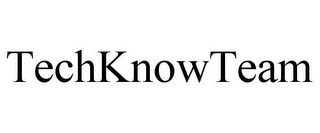 mark for TECHKNOWTEAM, trademark #85761682
