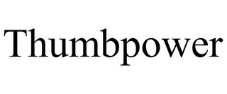 mark for THUMBPOWER, trademark #85761950