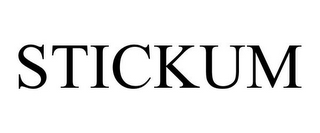 mark for STICKUM, trademark #85762015