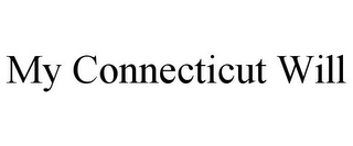 mark for MY CONNECTICUT WILL, trademark #85762140