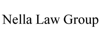 mark for NELLA LAW GROUP, trademark #85762248