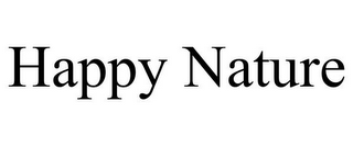 mark for HAPPY NATURE, trademark #85762535