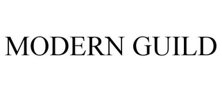 mark for MODERN GUILD, trademark #85762646