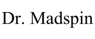 mark for DR. MADSPIN, trademark #85762687