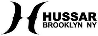 mark for H HUSSAR BROOKLYN NY, trademark #85762831