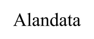 mark for ALANDATA, trademark #85763099