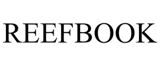 mark for REEFBOOK, trademark #85763104