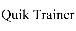 mark for QUIK TRAINER, trademark #85763114