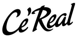 mark for CE'REAL, trademark #85763153