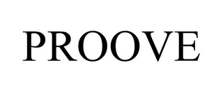 mark for PROOVE, trademark #85763315