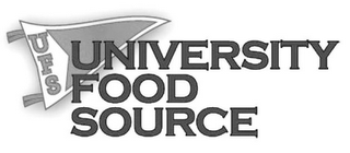 mark for UFS UNIVERSITY FOOD SOURCE, trademark #85763483