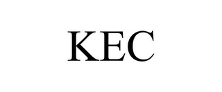 mark for KEC, trademark #85763545