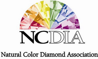 mark for NCDIA NATURAL COLOR DIAMOND ASSOCIATION, trademark #85763654