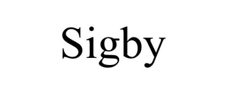 mark for SIGBY, trademark #85763723