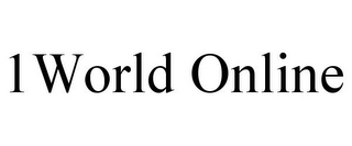 mark for 1WORLD ONLINE, trademark #85763882