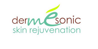 mark for DERME SONIC SKIN REJUVENATION, trademark #85763895