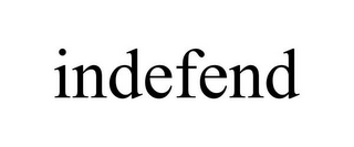 mark for INDEFEND, trademark #85763905
