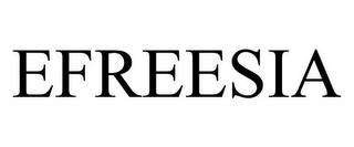 mark for EFREESIA, trademark #85763946