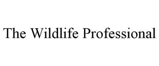 mark for THE WILDLIFE PROFESSIONAL, trademark #85764236